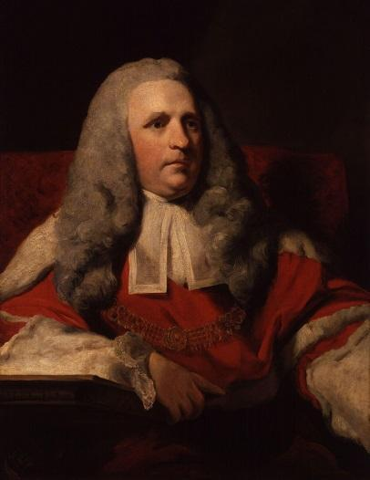 Sir Charles Pratt by Joshua Reynolds