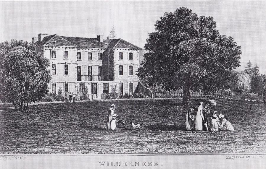 Wilderness House c1800